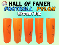 Schwartz Sports Football Hall of Famer Signed Endzone Pylon Mystery Box - Series 4 (Limited to 100) at PristineAuction.com