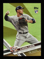 Aaron Judge 2017 Topps Gold Update #US166A All-Star RC at PristineAuction.com