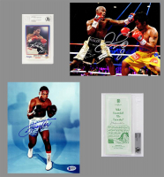 Schwartz Sports Boxing Collection Mystery Box - Series 9 (Limited to 100) (3 Boxing Autographs Per Box) (Pristine Exclusive Edition) *Floyd Mayweather Jr. Signed Championship Belt Redemption* at PristineAuction.com