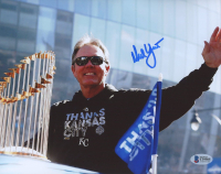 Ned Yost Signed Royals 8x10 Photo (Beckett COA) at PristineAuction.com