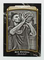 Ben Simmons 2017 Upper Deck Goodwin Champions #126 BW SP at PristineAuction.com