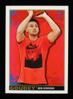 Ben Simmons 2017 Upper Deck Goodwin Champions Goudey #G1 at PristineAuction.com