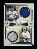 Marcus Stroman / Troy Tulowitzki 2018 Topps Museum Collection Dual Meaningful Material Relics #DAMT at PristineAuction.com