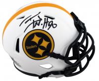 T.J. Watt Signed Steelers Lunar Eclipse Alternate Speed Mini-Helmet (Beckett Hologram) at PristineAuction.com