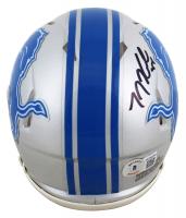 T. J. Hockenson Signed Lions Speed Mini Helmet (Beckett COA) at PristineAuction.com