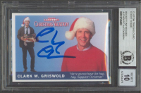 """Chevy Chase Signed """"National Lampoon's: Christmas Vacation"""" Custom Trading Card (BGS Encapsulated) at PristineAuction.com"""