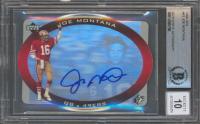 Joe Montana Signed 1996 SPx #43 (BGS Encapsulated) at PristineAuction.com