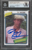 """Chevy Chase Signed """"Caddyshack"""" Custom Trading Card (BGS Encapsulated) at PristineAuction.com"""