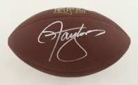 Lawrence Taylor Signed NFL Football (Schwartz Sports COA) at PristineAuction.com
