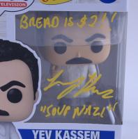 "Larry Thomas Signed ""Seinfeld"" #1086 Yev Kassem Funko Pop! Vinyl Figure Inscribed ""Bread is $2!!"" & ""Soup Nazi"" (PSA COA) at PristineAuction.com"