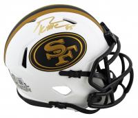 George Kittle Signed 49ers Lunar Eclipse Alternate Speed Mini-Helmet (Beckett Hologram) at PristineAuction.com