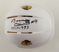 "Bobby Hull Signed Blackhawks Mini Helmet Inscribed ""HOF 1983"" (Schwartz Sports COA) at PristineAuction.com"