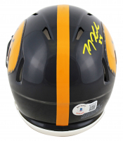 T. J. Hockenson Signed Iowa Hawkeyes Speed Mini-Helmet (Beckett Hologram) at PristineAuction.com