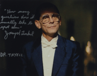 """Joe Turkel Signed """"Blade Runner"""" 11x14 Photo Inscribed with An Extensive Inscription & """"Dr. Tryell"""" (AutographCOA COA) at PristineAuction.com"""