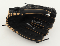 """Dwight Gooden Signed Glove Inscribed """"85 NL CY"""" (Schwartz COA) at PristineAuction.com"""