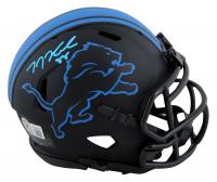 T. J. Hockenson Signed Lions Eclipse Alternate Speed Mini-Helmet (Beckett Hologram) at PristineAuction.com