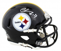 Chase Claypool Signed Steelers Speed Mini-Helmet (Beckett Hologram) at PristineAuction.com
