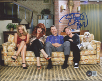 """David Faustino Signed """"Married... with Children"""" 8x10 Photo Inscribed """"Bud"""" (Beckett COA) (See Description) at PristineAuction.com"""