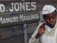 """Donald Fullilove Signed """"Back to The Future"""" 11x14 Photo Inscribed """"Whooo!!!"""" & """"Goldie Wilson"""" (AutographCOA COA) at PristineAuction.com"""