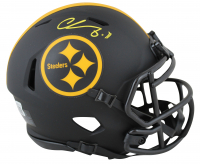 Chase Claypool Signed Steelers Eclipse Alternate Speed Mini-Helmet (Beckett Hologram) at PristineAuction.com
