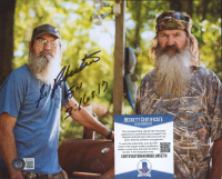 """Silas """"Si"""" Robertson & Phil Robertson Signed """"Duck Dynasty"""" 8x10 Photo (Beckett COA) at PristineAuction.com"""
