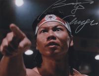 "Bolo Yeung Signed ""Bloodsport"" 11x14 Photo Inscribed ""Chong Li"" (AutographCOA COA) at PristineAuction.com"