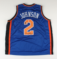 Larry Johnson Signed Jersey (PSA COA & Beckett COA) (See Description) at PristineAuction.com