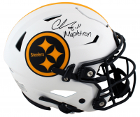 """Chase Claypool Signed Steelers Full-Size Authentic On-Field Lunar Eclipse Alternate SpeedFlex Helmet Inscribed """"Mapletron"""" (Beckett Hologram) at PristineAuction.com"""