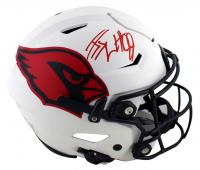 J.J. Watt Signed Cardinals Full-Size Authentic On-Field Lunar Eclipse Alternate SpeedFlex Helmet (JSA COA & Watt Hologram) at PristineAuction.com