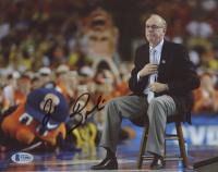 Jim Boeheim Signed Syracuse Orange 8x10 Photo (Beckett COA) at PristineAuction.com