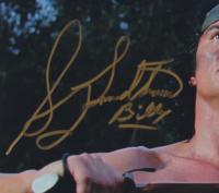 "Sonny Landham Signed ""Predator"" 11x14 Photo Inscribed ""Billy"" (AutographCOA COA) (See Description) at PristineAuction.com"