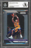 Shaquille O'Neal Signed 2018-19 Panini Prizm #35 (BGS Encapsulated) at PristineAuction.com