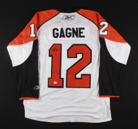 Simon Gagne Signed Flyers Jersey (JSA COA) at PristineAuction.com