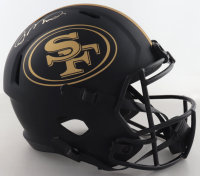 Joe Montana Signed 49ers Full-Size Eclipse Alternate Speed Helmet (Fanatics Hologram) (See Description) at PristineAuction.com