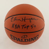 """Elvin Hayes Signed NBA Basketball Inscribed """"NBA Top 50"""" (Schwartz Sports COA) at PristineAuction.com"""
