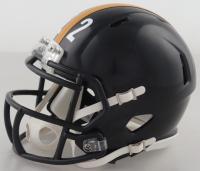 Najee Harris Signed Steelers Speed Mini Helmet (Fanatics Hologram) at PristineAuction.com