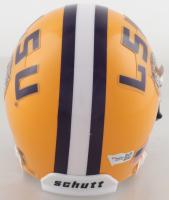 Joe Burrow Signed LSU Tigers Mini-Helmet (Fanatics Hologram) at PristineAuction.com
