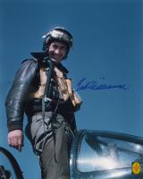 "Ted Williams Signed ""Korean War"" 16x20 Photo (Green Diamond COA) at PristineAuction.com"