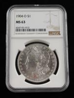 1904-O Morgan Silver Dollar (NGC MS 63) at PristineAuction.com