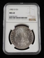 1902-O Morgan Silver Dollar (NGC MS 63) at PristineAuction.com