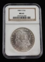 1885-O Morgan Silver Dollar (NGC MS 63) at PristineAuction.com