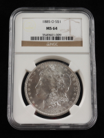 1885-O Morgan Silver Dollar (NGC MS 64) at PristineAuction.com
