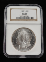 1880-S Morgan Silver Dollar (NGC MS 63) at PristineAuction.com