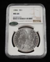 1886-P Morgan Silver Dollar (NGC MS 64) at PristineAuction.com