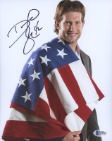 David Backes Signed Team USA 8x10 Photo (Beckett COA) at PristineAuction.com