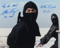 "Arthur Roberts & Sho Kosugi Signed ""Revenge of The Ninja"" 16x20 Photo Inscribed ""Be The Best!"" & ""Braden"" (AutographCOA Hologram) at PristineAuction.com"