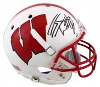 J.J. Watt Signed Wisconsin Badgers Full-Size Helmet (JSA COA & Watt Hologram) at PristineAuction.com