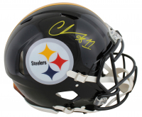 Chase Claypool Signed Steelers Full-Size Speed Helmet (Beckett Hologram) at PristineAuction.com