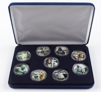 """LE """"Star Wars"""" Commemorative Half-Dollar Coin Set with (9) Coins & Display Case at PristineAuction.com"""