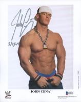 "John Cena Signed WWE 8x10 Photo Inscribed ""3/7/04"" (Beckett COA) at PristineAuction.com"